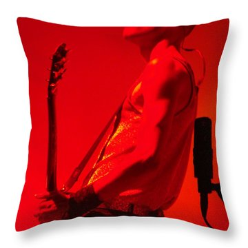 On Stage Lowlands 2010 Throw Pillow