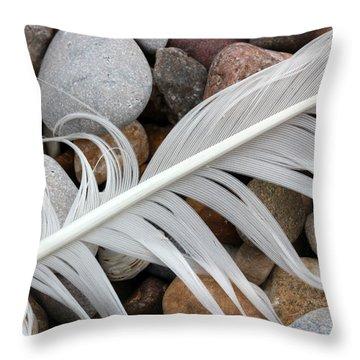 On The Beach 11 Throw Pillow