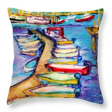 On The Boardwalk Throw Pillow