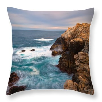 On The Cliff 2 Throw Pillow