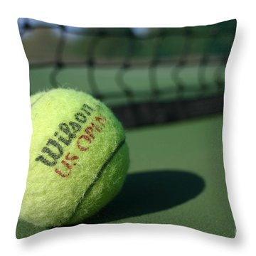 On The Court Throw Pillow