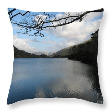 On The Drive To Connomarra Throw Pillow