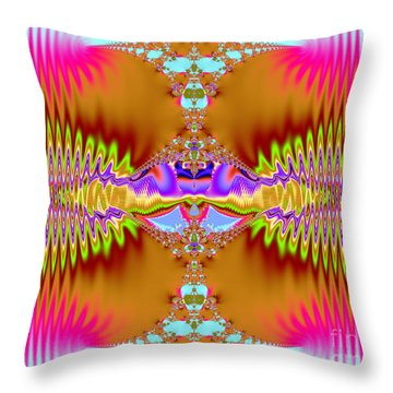 On The Edge Throw Pillow