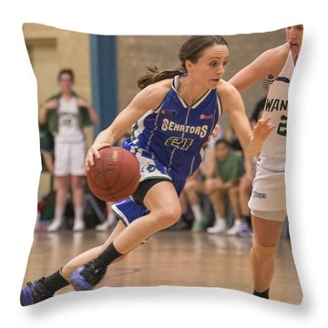 On The Go Throw Pillow by Serene Maisey