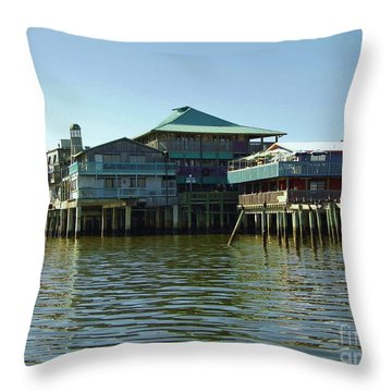 On The Gulf Throw Pillow