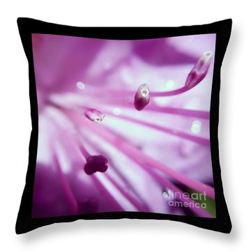 Throw Pillow featuring the photograph On The Inside by Kerri Farley