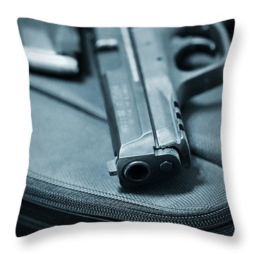 On The Lam Throw Pillow