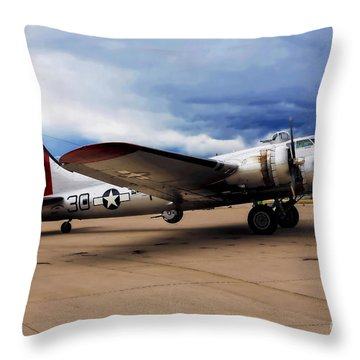 On The Ramp Throw Pillow