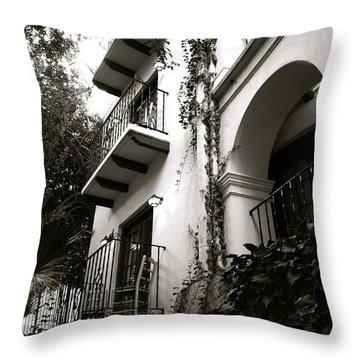 On The River Throw Pillow by Shawn Marlow