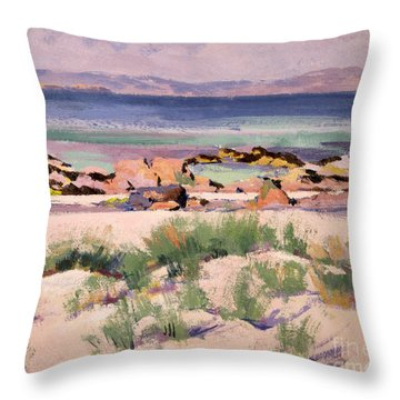 On The Shore  Iona  Throw Pillow