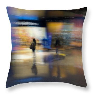 Throw Pillow featuring the photograph On The Threshold by Alex Lapidus