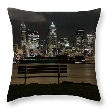 On The Water's Edge Throw Pillow