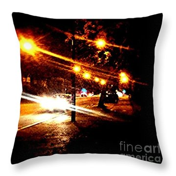 On The Way Home Tonight Throw Pillow