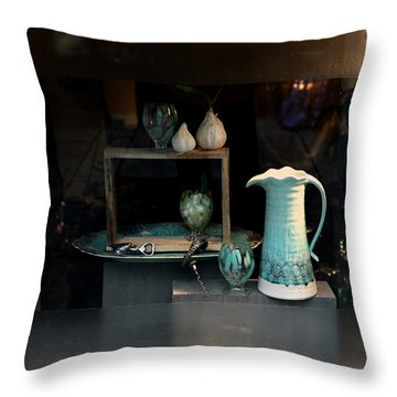 In The Window Throw Pillow
