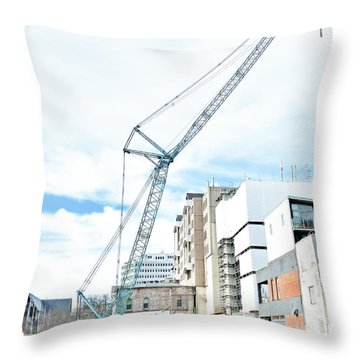 On Tiptoes Throw Pillow
