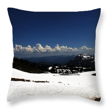 On Top Of Paradise Throw Pillow