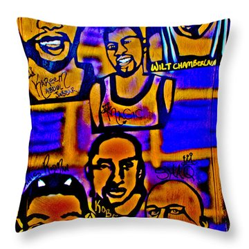 Once A Laker... Throw Pillow