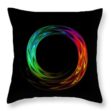 Once Around Throw Pillow