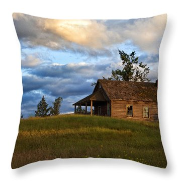 Once Loved Throw Pillow