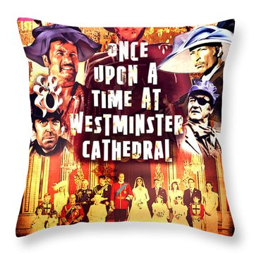 Once Upon A Time Throw Pillow by Mark Armstrong