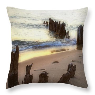 Once Upon A Time Throw Pillow by Randy Pollard