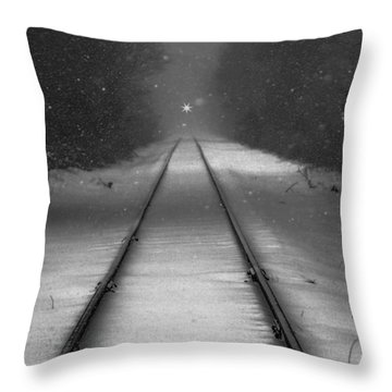 Oncoming Throw Pillow
