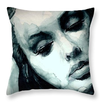 One And Only Throw Pillow by Laur Iduc