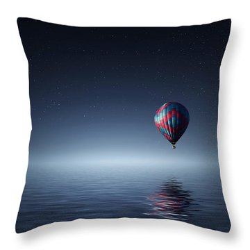One Throw Pillow by Bess Hamiti