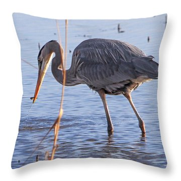One Bite At A Time Throw Pillow