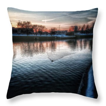 One By Air One By Sea Throw Pillow