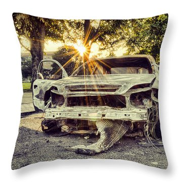 One Careful Owner Throw Pillow