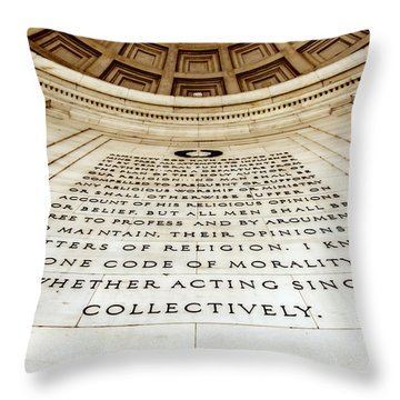 One Code Throw Pillow