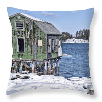 One Day At A Time Is Enough Throw Pillow by Richard Bean