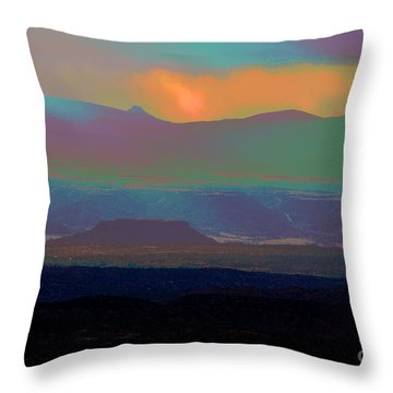 One Enchanted Evening Throw Pillow by Susanne Still