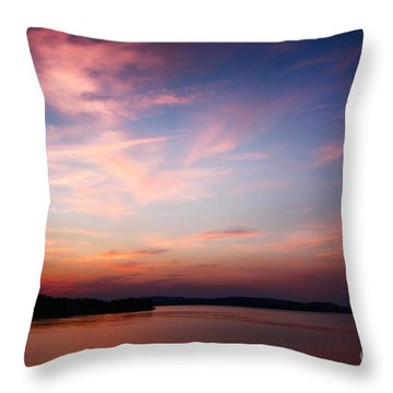 One Fine Sunset Throw Pillow