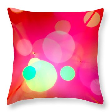 One Hot Minute Throw Pillow