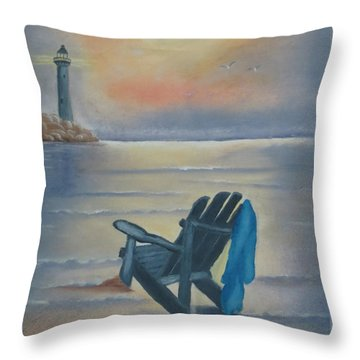 One Is A Lonely Number Throw Pillow by Kay Novy