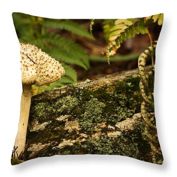 One Is A Lonely Number Throw Pillow by Tammy Schneider