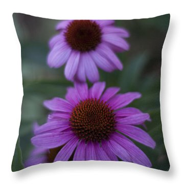 One Is Shy Throw Pillow by Miguel Winterpacht