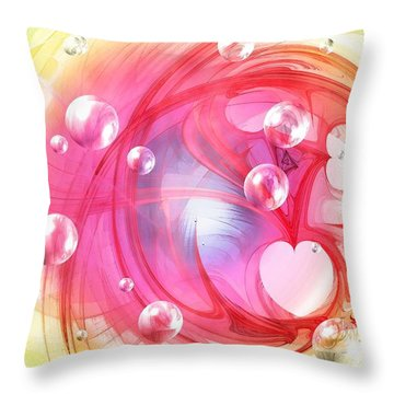 One Love... One Heart... One Life Throw Pillow