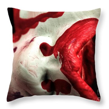 One More Kiss Throw Pillow