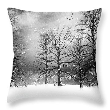One Night In November Throw Pillow by Bob Orsillo