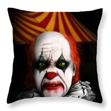One Night Only Throw Pillow by Jeremy Martinson