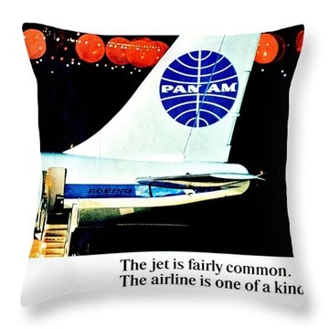 One Of A Kind Throw Pillow by Benjamin Yeager