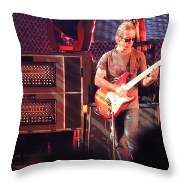 One Of The Greatest Guitar Player Ever Throw Pillow by Aaron Martens