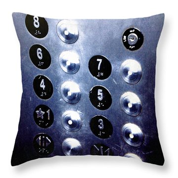 One Please... Throw Pillow