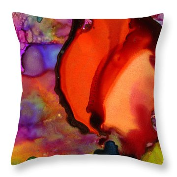 One Red Rose Throw Pillow