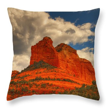One Sedona Sunset Throw Pillow