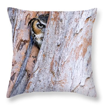 One Sided Throw Pillow