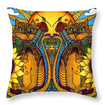 One Splendid Day Throw Pillow
